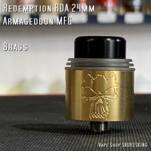 Redemption RDA 24mm Brass by Armageddon MFG *正規品*VAPE|saurusking
