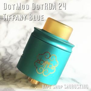 Dotmod DotRDA 24 color:Tiffany Blue|saurusking