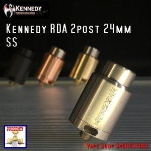 Kennedy RDA 2 Post 24mm SS / ケネディー VAPE *正規品*|saurusking