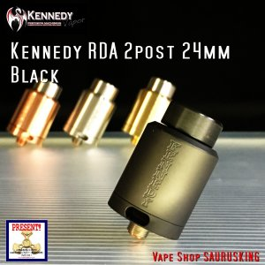 Kennedy RDA 2 Post 24mm Black / ケネディー|saurusking