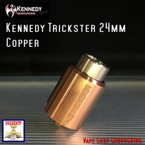 Kennedy RDA Trickster 24mm Copper / ケネディー トリックスター|saurusking