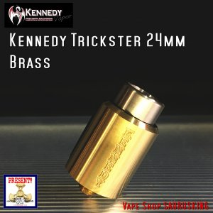 Kennedy RDA Trickster 24mm Brass / ケネディー トリックスター VAPE *正規品*|saurusking