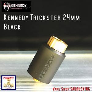 Kennedy RDA Trickster 24mm Black / ケネディー トリックスター VAPE *正規品*|saurusking