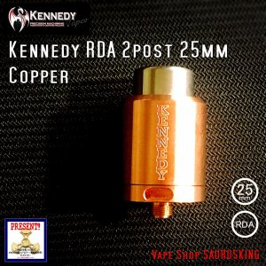 Kennedy RDA 2post 25mm Copper / ケネディー VAPE *正規品*|saurusking