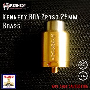 Kennedy RDA 2post 25mm Brass / ケネディー VAPE *正規品*|saurusking