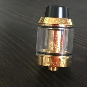 Asvape Cobra Color:Gold / アスベイプ コブラ サブオームタンク アトマイザー ゴールド*正規品*|saurusking