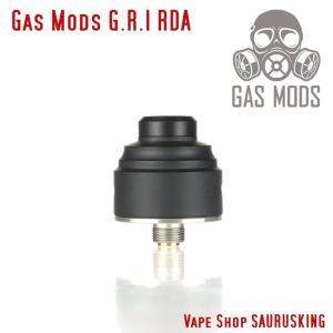 Gas Mods G.R.1 RDA 22mm Black / ガスモッズ  GR1 BF対応 ブラック*正規品* Vape アトマイザー|saurusking