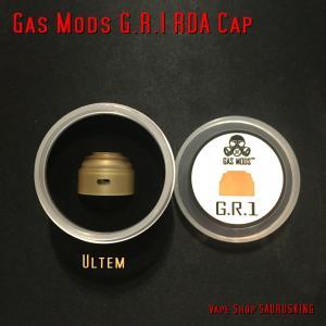 交換キャップ:ウルテム Gas Mods G.R.1 RDA 22mm専用 / ガスモッズ  GR1 BF対応 *正規品* Vape アトマイザー|saurusking