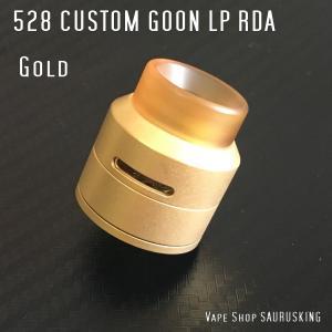 Goon LP RDA 528 Custom 24 Color:Gold / グーン LP RDA 24mm 528カスタムゴールド*正規品*|saurusking