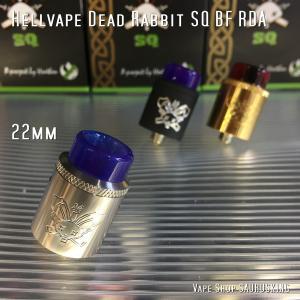 Hellvape Dead Rabbit SQ BF RDA 22 Color:Silver / ヘルベイプ デッドラビット  22mm シルバー*正規品* VAPE Atomizer|saurusking