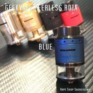Geekvape Peerless RDTA Color:Blue / ギークベイプ ピアレス ブルー*正規品*|saurusking