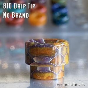 ドリップチップ 810 ノーブランド / VAPE Drip Tip No Brand 016|saurusking