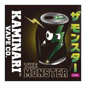 ザ モンスター 15ml カミナリベイプ CO. / The Monster Kaminari Vape Co. VAPE用リキッド|saurusking