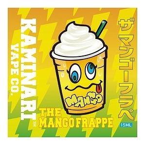 ザ マンゴーフラペ 15ml カミナリベイプ CO. / The Mango Frappe Kaminari Vape Co. VAPE用リキッド|saurusking