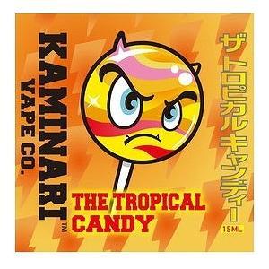 ザ トロピカルキャンディ 15ml カミナリベイプ CO. / The Tropical Candy Kaminari Vape Co. VAPE用リキッド|saurusking