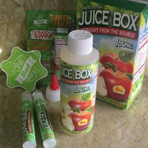 ワンヒットワンダー ジュースボックス アップル 180ml  / One Mad Hit Juice Box Apple VAPE用リキッド|saurusking