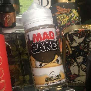 Mad Cakes 100ml エクレア(チョコレート&カスタード) / VAPE リキッド E-Juice|saurusking
