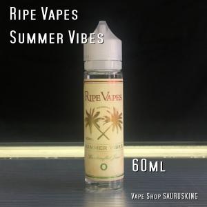 Ripe Vapes サマーバイブス 60ml / ライプベイプス  Summer Vibes VAPE用リキッド|saurusking
