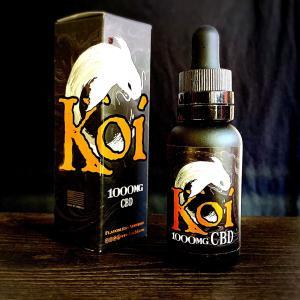 Koi CBD White 1000mg / 30ml VAPE用リキッド|saurusking