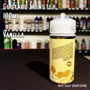 Custard Monster [Vanilla ] 100ml カスタードモンスター バニラ VAPEリキッド|saurusking