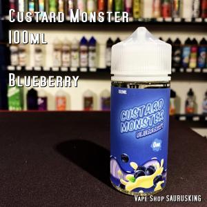 Custard Monster [Blueberry ] 100ml カスタードモンスター ブルーベリー VAPEリキッド|saurusking