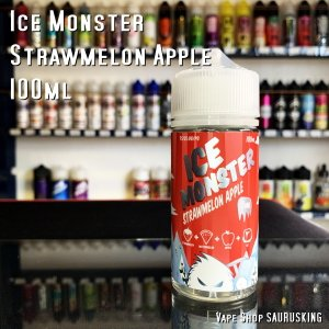 Ice Monster [Strawmelom Apple] 100ml アイス モンスター ストローメロンアップル VAPEリキッド|saurusking