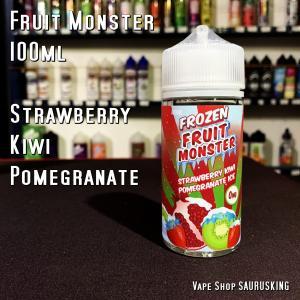 Fruit Monster [Strawberry Kiwi Pomegranate] 100ml フルーツモンスター ストロベリー キウイ ザクロ VAPEリキッド|saurusking