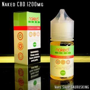 Naked CBD 1200mg Hawaiian Pog / 30ml Vape用リキッド|saurusking