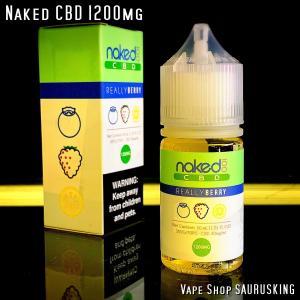 Naked CBD 1200mg Really Berry / 30ml Vape用リキッド|saurusking