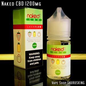 Naked CBD 1200mg Lava Flow / 30ml Vape用リキッド|saurusking
