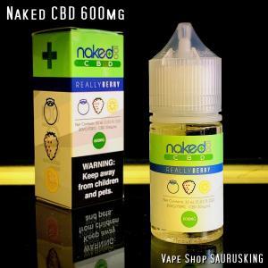 Naked CBD 600mg Really Berry / 30ml Vape用リキッド|saurusking