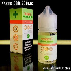 Naked CBD 600mg Hawaiian Pog / 30ml Vape用リキッド|saurusking
