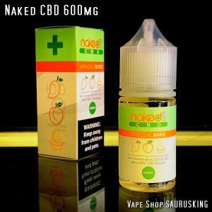 Naked CBD 600mg Amazing Mango / 30ml Vape用リキッド|saurusking
