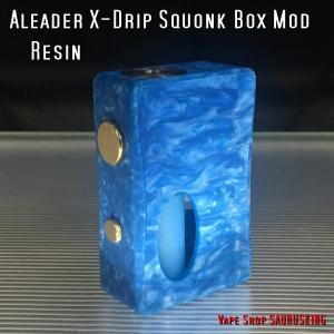 Aleader X-Drip 7.0ml Squonk Box Mod Color:08 / アリーダー Xドリップ ボトムフィーダー用スコンカー *正規品*VAPE BF|saurusking