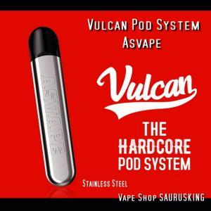 Asvape Vulcan Pod System カートリッジ3個付き / アスベイプ バルカン *正規品*VAPE BOX MOD saurusking