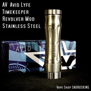 AV Avid Lyfe Timekeeper Revolver Mod / アヴィッドライフ タイムキーパー リボルバー モッド*USA正規品* VAPE|saurusking