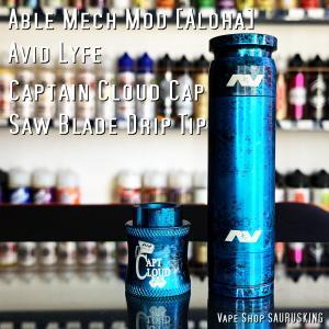 Avid Lyfe Able Mech Mod [Aloha] / アヴィッドライフ エーブル アロハ*USA正規品* VAPE saurusking