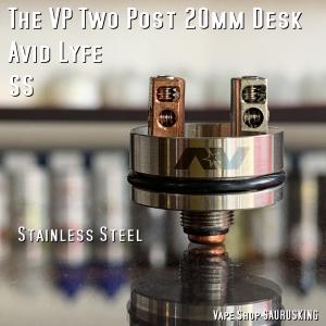 Avid Lyfe The VP Two Post 20mm Deck [SS] / アヴィッドライフ *USA正規品* VAPE RDA|saurusking