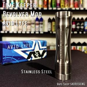 Avid Lyfe Timekeeper Revolver Mod [ss] / アヴィッドライフ タイムキーパー リボルバー モッド*USA正規品* VAPE|saurusking