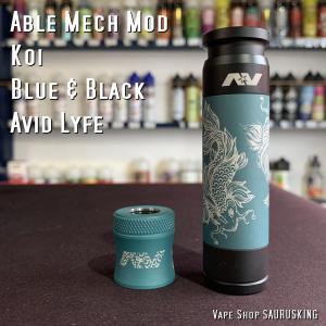 Avid Lyfe Able Mech Mod Koi [Blue & Black] / アヴィッドライフ エーブル 鯉*USA正規品* saurusking