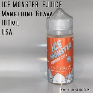 Ice Monster Mangerine Guava 100ml / ジャムモンスター マンジェリングアバ味 VAPE リキッド|saurusking