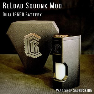 ReLoad Squonk Mod Black by ReLoad Vapor USA *正規品* VAPE|saurusking