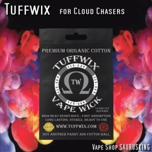 Tuffwix Wicks VAPE用コットン / タフウィックス*正規品*|saurusking