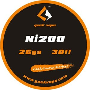 Geek Vape Wire Ni200 26Ga 30ft VAPE RBA / ギークベイプ ワイヤー ニッケル 温度管理|saurusking