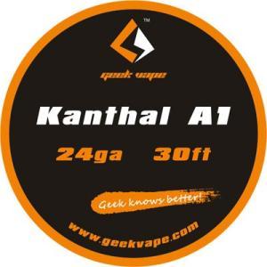 Geek Vape Wire Kanthal A1 24Ga 30ft VAPE RBA / ギークベイプ ワイヤー カンタル|saurusking