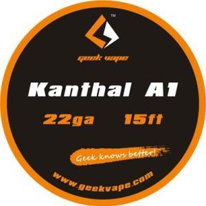 Geek Vape Wire Kanthal A1 22Ga 15ft VAPE RBA / ギークベイプ ワイヤー カンタル|saurusking