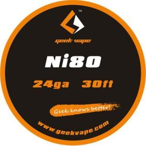 Geek Vape Wire Ni80 24Ga 30ft VAPE RBA / ギークベイプ ワイヤー ニクロム|saurusking