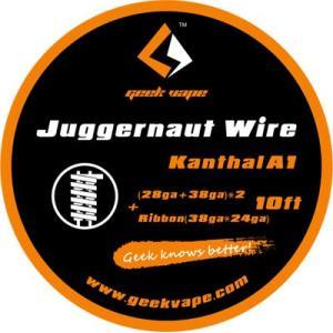 Geek Vape Wire Juggernaut Kanthal A1 10ft VAPE RBA / ギークベイプ ワイヤー ジャガーノート カンタル|saurusking