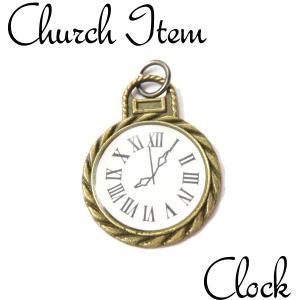 クロック ペンダントTOP ペンダント ネックレス チャーム 教会 925 指輪 ヴィンテージ|savanna-tokyo