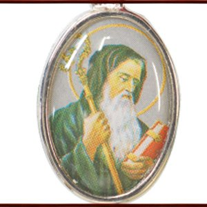 BERNARD 聖ベネディクトのクロスメダイ  ペンダント ネックレス チャーム 教会 925 指輪 ヴィンテージ|savanna-tokyo|02